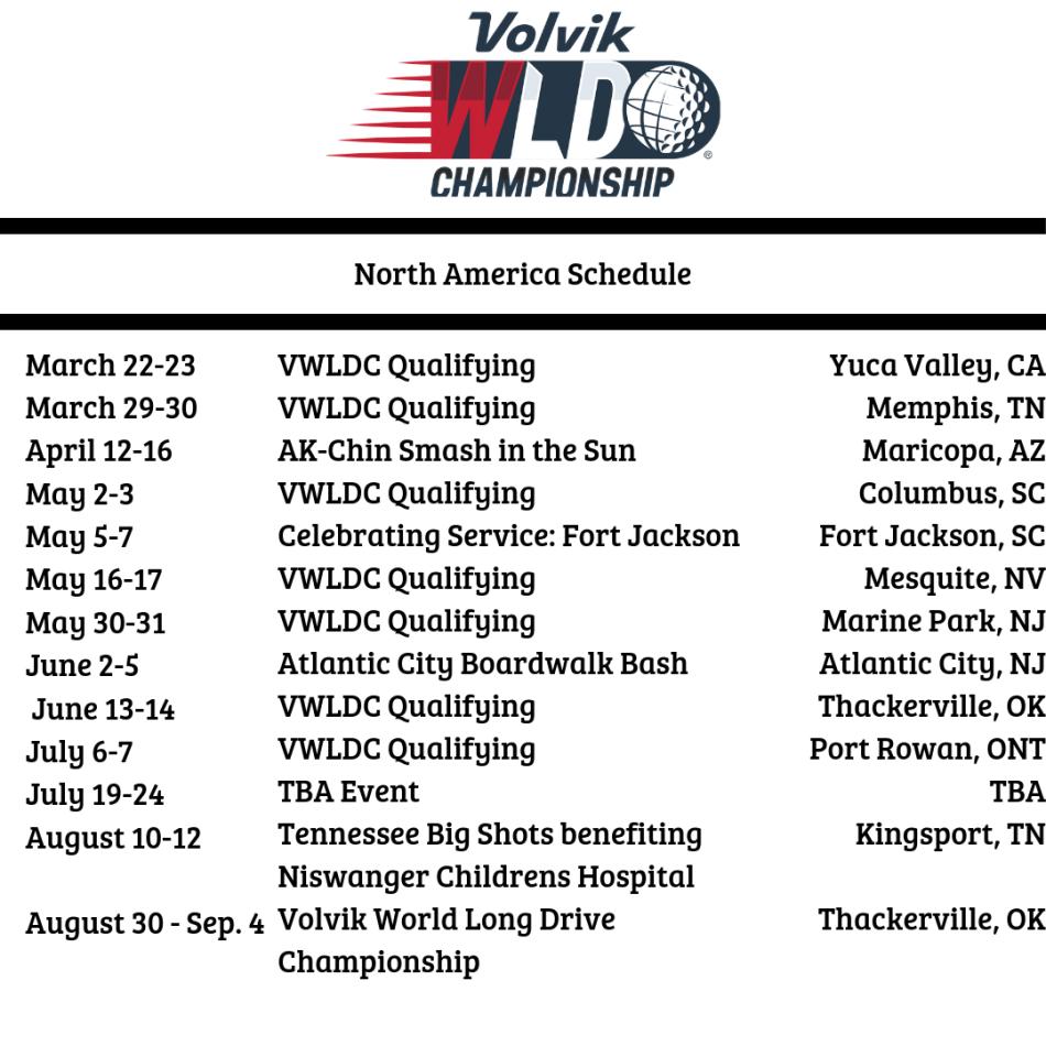 north america schedule