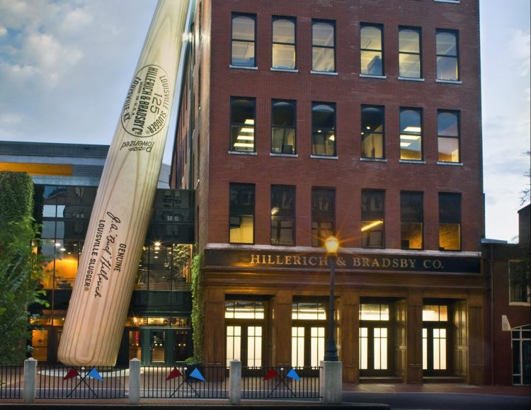 HB-HQ-and-the-world-famous-Louisville-Slugger-Museum-Factorys-Big-Bat-e1468254827394